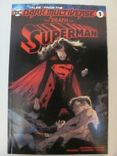 Tales From The Dark Multiverse Death of Superman #1 DC 2019 One Shot 9.6 NM+