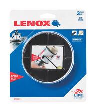 Lenox Speed Slot 3-5/8 in. Dia. x 1.5 in. L Bi-Metal Hole Saw 1/2 in. 1 pc