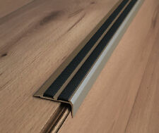 Aluminium Anti Non Dérapant Escalier bord arrondi -!!! Champagne!!! - Bordure Escalier Arrondi