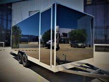 6m/Long ALUMINUM CARGO VAN TRAILER- 2m/High x 2.4m/Wide- FINANCE AVAILABLE