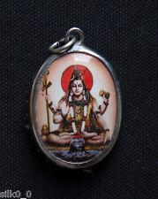 PENDENTIF - SHIVA / OM / HINDOU - Artisanat Indien / 3x2,3cm /  HINDU / OHM / 2