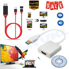 1080P USB to HDMI HDTV Adapter Cable External Graphics Audio Card Converter