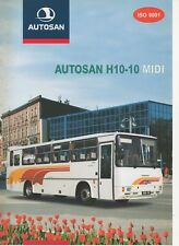 Autosan H10-10 Midi bus (made in Poland) _2000 Prospekt / Brochure