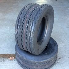 2x 20.5 8 10 77M 4Ply Deli new trailer tyres 20.5x8.00-10 x2