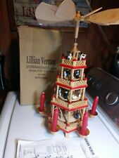 Lillian Vernon 3 Tier Nativity Christmas Holiday Carousel