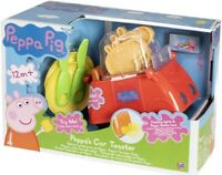 Peppa Pig Peppa's Car Toaster Playset Toy with Flashing Lights & Sounds Age 1+