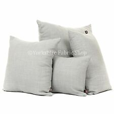 New Soft Linen Effect Chenille Blend Fabric Handmade Cushions With Filling