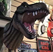 "T-Rex Dinosaur Head Wall Mounted Sculpture 15.5"" Tall"