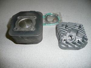 Malossi Zylinderkit gebraucht, D: 47mm , 12 mm Kolbenbolzen, mit Zylinderkopf