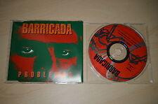 Barricada - Problemas. CD-Single PROMO (CP1705)