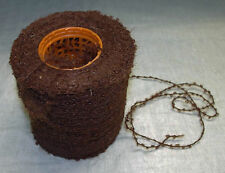 Mohair wool  loop knitting yarn 425g cone DK warm brown toymaking etc