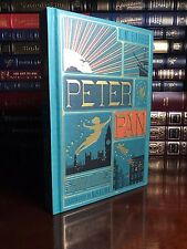 Peter Pan by J.M. Barrie Illustrated by Minalima New Deluxe Cloth Bound Hardback