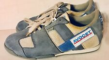 Vintage Avocet Cycling Touring Shoes - Women's Size 7 - White & Gray Suede
