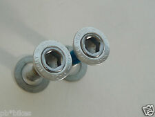 Campagnolo Record Crank Bolts Bottom Bracket Vintage bike Integrated Covers NOS