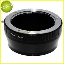 Adattatore per obiettivi Contax/Yashica su fotocamere Nikon 1. Anello adapter