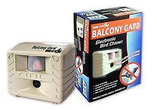 Balcony Gard Ultrasonic Bird Repeller Guard Pest Control Home Owl Pigeon Away