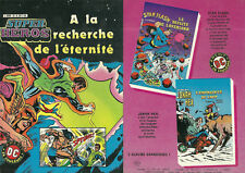 BD - SUPER HEROS N° 12 : A LA RECHERCHE DE L' ETERNITE ( AREDIT ) / BON ETAT