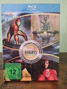 Marvel Knights - Iron Spider Man - Thor - Black Panther - 4 Blu-ray Disc - NEU