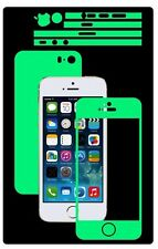 Glow in the Dark Skin Protector,Full Body Vinyl Decal Case Wrap, Apple Iphone SE