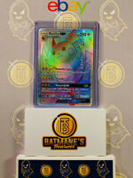 Raichu GX 75/73 NM Mint Shining Legends Full Art Secret Rare Holo Pokemon Card