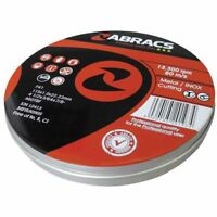 Abracs Proflex Cutting Discs 115mm X 1mm Extra Thin Inox Tin of 10 Metal Work