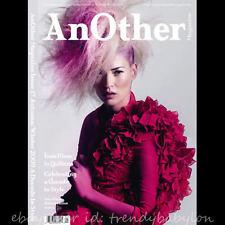 BN Another Magazine #17 F/W 2009 Slimane Carmen Knight Eniko Luchford Kate Moss