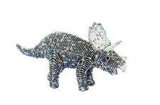 Beadworx Glass Beads Beaded Wire Triceratops Dinosaur Prehistoric NWT