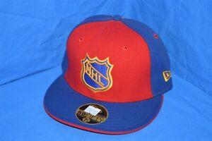 NHL HOCKEY ATLANTA THRASHERS NEW ERA RED BLUE YELLOW FITTED WOOL HAT CAP 7 1/8