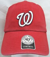 Washington Nationals MLB 47 Brand adjustable cap/hat