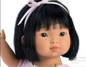 poupée réaliste asiatique ballerine 28 cm de miguel llorens neuf