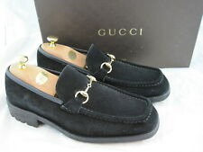 Gucci Herrenschuhe orginal ( 1100217 ) in 43 / UK 9 / Top / Schwarz/ Profilsohle