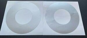 2 x Pioneer CDJ Jog Wheel Skins Protector Covers For CDJ 2000 1000 900 850 800