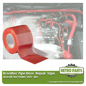 Crankcase Breather Hose Pipe Repair Tape For Lancia. Leak Fix Seal Red