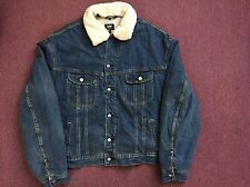 LEE DENIM TRUCKER JACKET XXL SHERPA LINED BRAND NEW WITH TAGS RETAIL $88