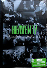 HEAVEN 17 * LIVE FROM METROPOLIS STUDIOS * UK SIGNED LTD DELUXE DVD/CD *500 ONLY