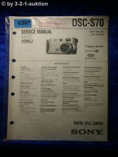 Sony Service Manual DSC S70 Level 1 Digital Still Camera (#6587)