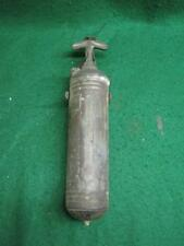 Antique Pyrene Brass Fire Extinguisher 1 Quart Pump Type Made In USA # 2210-13