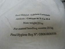 Limestone Flour, Calcium Carbonate 1kg,  Reptile Dusting, Tortoise, Horse, Snail