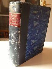 """LIBRO ANTICO LEGATURA """"TRILUSSA: LE FAVOLE, I SONETTI, NOVE POESIE""""1928"""
