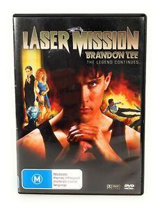 Laser Mission (DVD, 1990) Brandon Lee Region 4 Free Postage