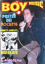 BOY MUSIC 26 1979 Celentano Rockets Alunni Del Sole Elton John Elvis Presley