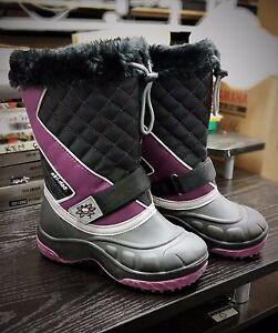 *Ski-Doo Youth Flip Boots - Purple / 13 - 4441933336*