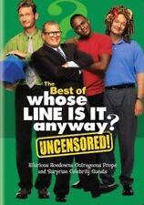 Best of Whose Line Is It Anyway 0883929058259 With Wayne Brady DVD Region 1