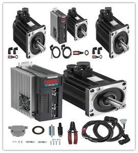 AC 220V Servo Motor Servo Driver CNC 2~15N.M machines Servo Driver processing