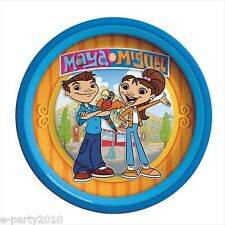 MAYA AND MIGUEL SMALL PAPER PLATES (8) ~ Birthday Party Supplies Dessert Cake
