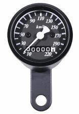 Mini Tachometer 2:1 schwarz 48 mm