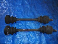 98-02 MERCEDES CLK320 CLK430 CLK55 W208 REAR LEFT DRIVER AND RIGHT PASS AXLE OEM