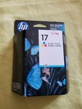 New Sealed HP 17 Tri Color Ink Cartridge expires 10/2011