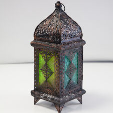 Moroccan Coloured Glass Lanterns Tealight Candle Holder 4 Designs Weddings Event
