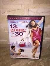13 Going on 30 (DVD, 2004, Special Edition) JENNIFER GARNER